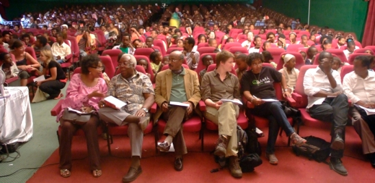 Audience at a screening at the last years' festival
